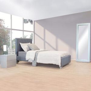 cama LUNA gris